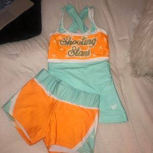 WCSS orange outfit
